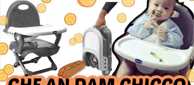 Review ghế ăn chicco Pocket Snack Plus