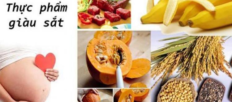 Thực phẩm bổ sung sắt và canxi